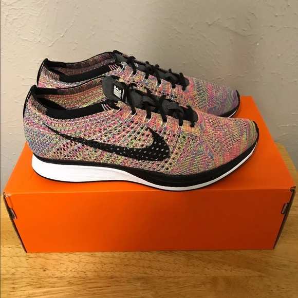 "promo code 2e03b c3dc8 Nike Flyknit Racer Multicolor 2.0 ""Grey Tongue"". M 5b2b387395199661362e2962"